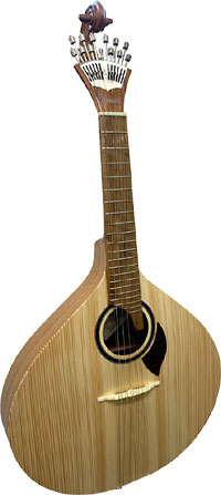 Carvalho 12 String Portuguese Guitar Fado Guitarra. Solid spruce top with a solid sapele body.