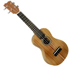 Carvalho Soprano Ukulele, Koa Wood Sandwiched Solid koa top, back and sides, African blackwood fingerboard, unbound