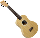 Ashbury Tenor Ukulele, Flamed Oak Flame oak top, back and sides. Satin finish