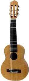 Ashbury Guitalele, Flamed Oak Flame oak top, back and sides. Satin finish, Sapele neck, hardwood fingerboard