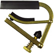 Shubb Ukulele Capo Fits soprano, tenor and concert Uke. Rubber width 51mm, brass