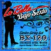 La Bella Bajo Sexto String Set 12 string set for F, C, G, D, A, E tuning. Loop ended, stainless steel wound