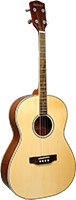 Ashbury Tenor Guitar, Spruce Top Solid sitka spruce top with mahogany body, 12 fret to body, .