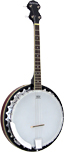 Ashbury Tenor Banjo, 17 Fret, Mahogany Short scale 4 string, aluminium rim, 30 tension hooks, mahogany resonator..