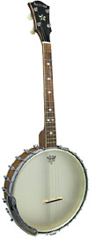 Ashbury Openback Tenor Banjo, 17 Fret Short scale openback. 17 fret, walnut neck & rim, Whyte laydie tone ring.
