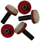 Sherwood Stepped Bass Melodeon Button Bag of 5 buttons and felt suitable for Sherwood and many other melodeons