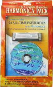 Waltons Harmonica Book, CD & Harp Pack The Walton's tutor and CD packed with a standard diatonic Harmonica.