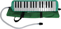 Scarlatti 32 Key Melodica, Green A great value student Melodica complete with blow pipes