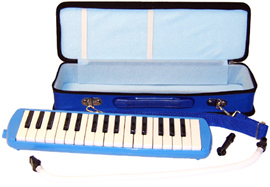 Scarlatti 32 Key Melodica, Blue A great value student Melodica complete with blow pipes