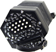 Stagi C/G Anglo Concertina, 30 Key C/G anglo system, smaller design, black fretted ends and white buttons