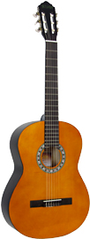 Delgada Classical Guitar, Full Size Classical model with Linden wood top, back and sides.