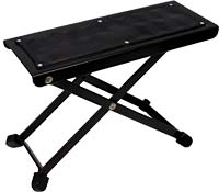 Ashbury Guitar Footstool, Nickel Great value adjustable foot rest for guitar & other frets players..