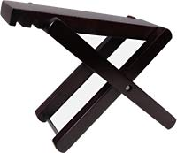 Ashbury Guitar Footstool, Wooden Great value adjustable foot rest for guitar & other frets players..