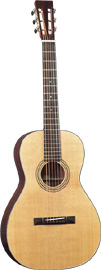 Blueridge Parlour Size Guitar Solid Sitka spruce top, solid mahogany body, slotted headstock, Nut 1 7/8