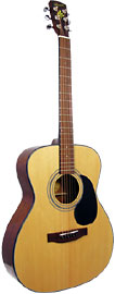 Bristol OOO Acoustic Guitar.Spruce Top By Blueridge. Spruce top with scaloped braces. A bright full sound