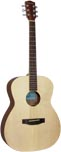 Ashbury OOO Style Acoustic Guitar Natural spruce top with mahogany 000 body.