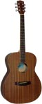 Ashbury OOO Style Acoustic Guitar Mahogany top with a mahogany 000 body.