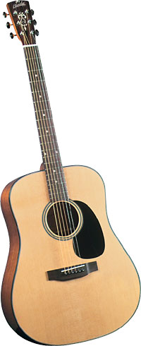 Blueridge Dreadnought Acoustic Guitar Contemporary Series. Solid sitka spruce top. Mahogany back and sides