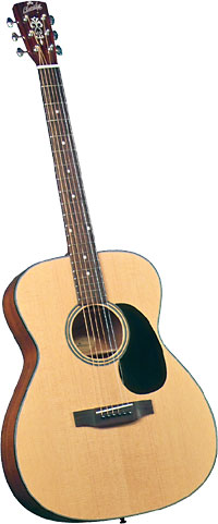 Blueridge 000 Acoustic Guitar Contemporary Series. Solid sitka spruce top. Mahogany back and sides
