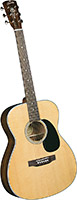 Blueridge 000 Acoustic Guitar, Spruce Top Contemporary Series. Solid sitka spruce top. Santos rosewood back and sides