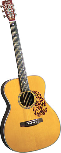 Blueridge OOO Acoustic Guitar Historic Series. Solid sitka spruce top with herringbone purfling