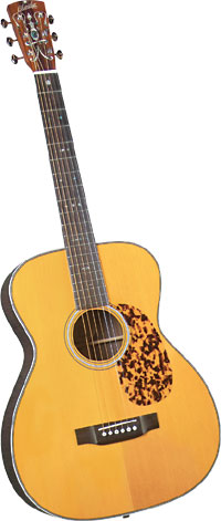 Blueridge OOO Acoustic Guitar, 12th fret Historic Series. Solid sitka spruce top with herringbone purfling