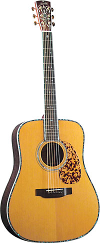 Blueridge Historic Acoustic Guitar Solid sitka spruce top with scalloped bracing. Dreadnought body style.
