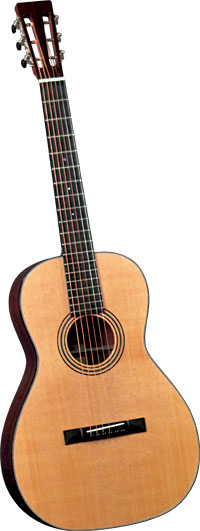 Blueridge Parlour 0 Size Acoustic Guitar Solid select spruce top. Solid mahogany back and sides
