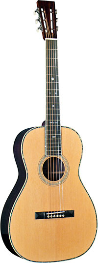 Blueridge Parlour 0 Size Acoustic Guitar Solid select spruce top. Solid santos rosewood back and sides