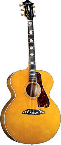 Super Jumbo Guitar, Mahogany B