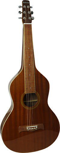 Ashbury Weissenborn Guitar, Squareneck All Sapele body, composite wood fingerboard with hollow square neck.