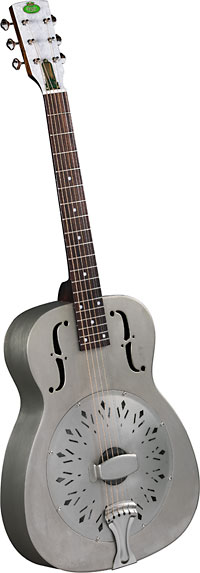 Regal Duolian Resonator Guitar Authentic Duolian-style body with 14th-fret neck/body joint