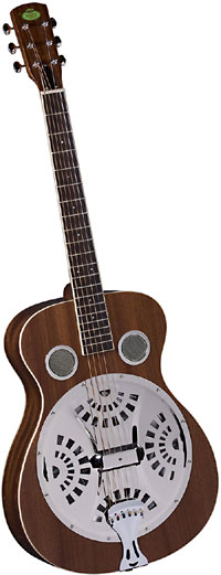 Regal Resonator Guitar Mahogany Solidly built mahogany body with incredible tone and volume