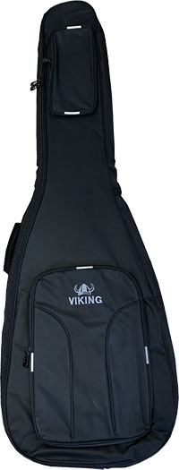 Ashbury Deluxe Electric Bass Bag Tough black nylon outer with 20mm padding, black & grey..