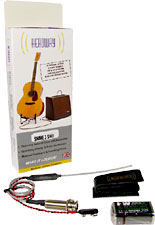Headway Guitar Pickup Flexible cable piezo pickup. Complete low cost active system.