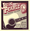 John Pearse Guitar Set, Medium, Bronze .013-.056. Medium gauge string set from the legendary Breezy Ridge company