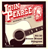 John Pearse Bluegrass Guitar Set, G Tuning .012-.056. 80/20 Bronze. From the legendary Breezy Ridge company