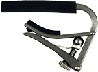 Shubb Deluxe 12 String Guitar Capo Crafted from solid stainless steel to resist nicks and scratches