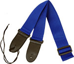 Viking Webbing Guitar Strap, Blue Great looking, fully adjustable strap