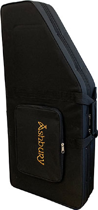 Viking Standard Autoharp Foam Case Leightweight foam case with a black canvas cover. Black interior.