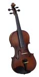 Valentino Full Size Violin Outfit Carved solid spruce top, carved solid maple body with two piece back