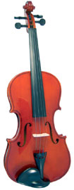 Valentino Full Size Violin Outfit Solid spruce top, solid maple body, case and bow. Well specified starter Violin