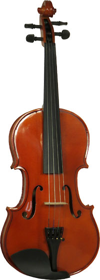 Valentino 3/4 Size Violin Outfit Solid spruce top, solid maple body, case and bow. Well specified starter Violin