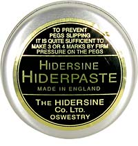 Hidersine Hiderpaste Violin Peg Paste To prevent violin pegs from slipping