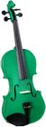 Cremona 1/2 Size Violin Outfit, Green US-made Prelude strings, the educator's preferred strings for students.