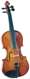 Cremona 1/2 Size Violin Outfit Cremona SV-100 Premier Novice 1/2 size Violin with Dyed Rosewood Fingerboard.