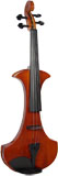 Cremona Electric Frame Violin, Outfit Electric violin. Elegantly-shaped, hardwood body, with case, bow & headphones