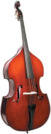 Cremona 3/4 Size Double Bass Cremona SB-2 3/4 size Premier Student Upright String Bass with Maple Back.
