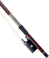 J Lasalle 4/4 Size Violin Bow Round resilient brazilwood stick with great balance and flexibility