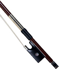 J Lasalle 3/4 Size Violin Bow Round resilient brazilwood stick with great balance and flexibility